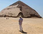 Egyptian 'bent' pyramid dating back 4,600 years opens to public